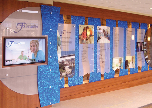 Donor Walls Donor Recognition Displays Photo Gallery