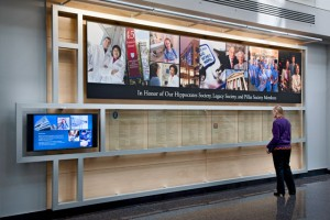 Brigham And Womens Hospital Recognition Display