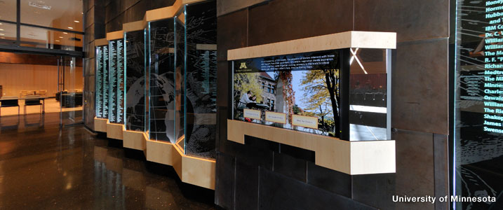 Indiana University Hospital >> Donor Walls Recognition Displays Portfolio   Planned Legacy